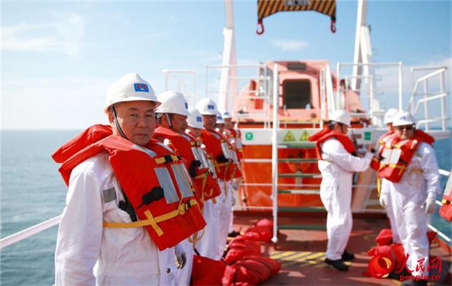 走近海员的工作和生活:艰辛与快乐相伴